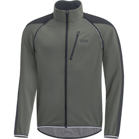 GORE WEAR C3 Windstopper Phantom Zip-Off Jacket Men castor grey/black